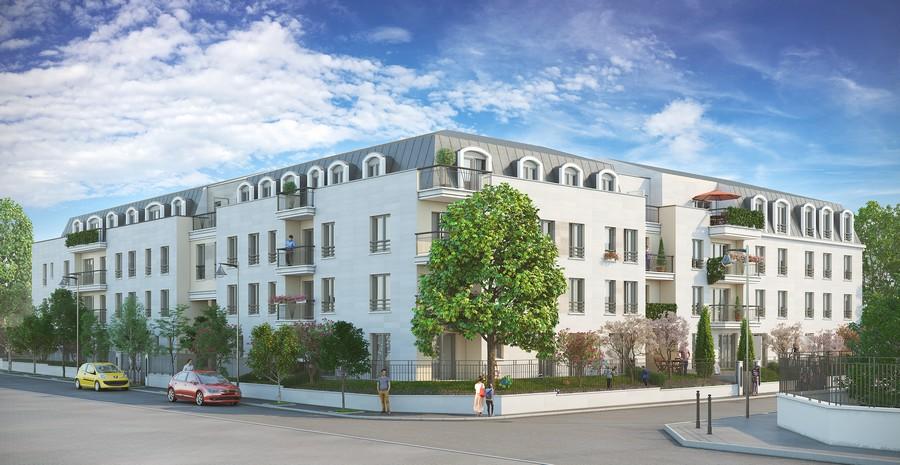 appartement neuf vendre rueil malmaison jardin des. Black Bedroom Furniture Sets. Home Design Ideas